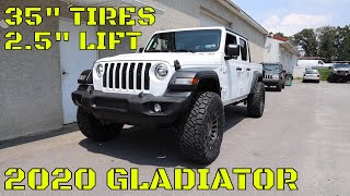WHOA! What a DIFFERENCE! Lifting a 2020 Jeep Gladiator