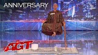 Special Head Levitates and Shocks the World - America's Got Talent 2020 thumbnail