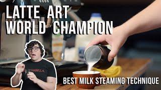 How To Steam Milk (featuring Latte Art World Champion Lance Hedrick)