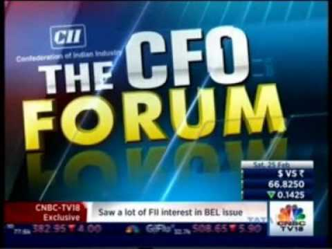 Mr. Ramesh Subramanyam, CFO, Tata Power part of CNBC TV 18 - Panel discussion of Mr Subramanyam