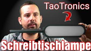 ✅ Schreibtischlampe LED TaoTronics | Augenschutz - USB-Anschluss - 5 Farbmodi | Touch-Steuerung