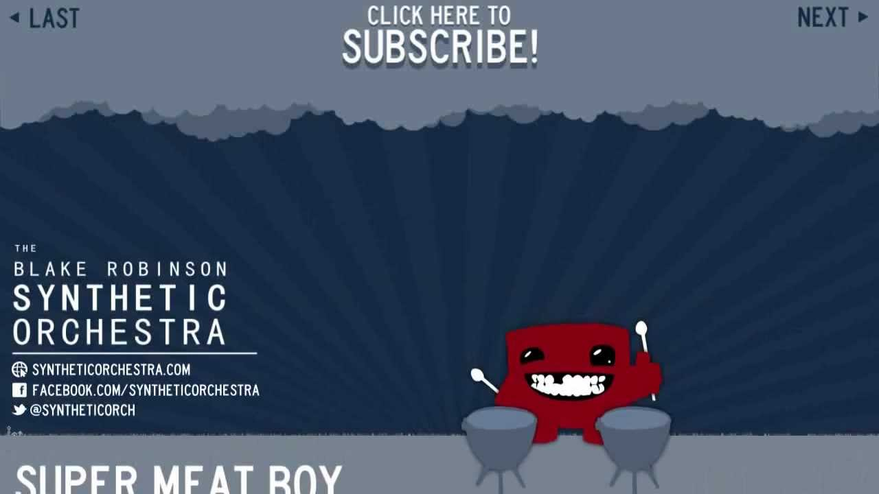 This Is An Orchestrated Version Of The Super Meat Boy Soundtrack!