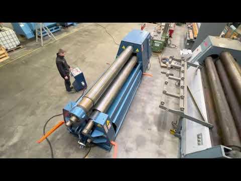 3 Roll Plate Bending Machine FACCIN HEL 3134 2009