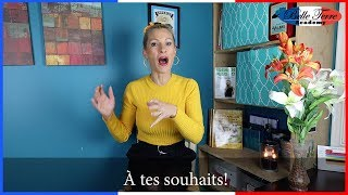 2 WAYS to SAY GOD BLESS YOU in FRENCH / What to SAY in FRENCH AFTER someone SNEEZES