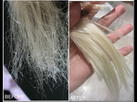 Video How to repair VERY damaged hair! :)