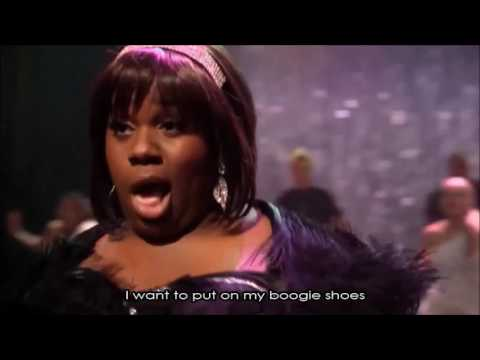 Glee - Boogie Shoes (Full Performance With Lyrics)