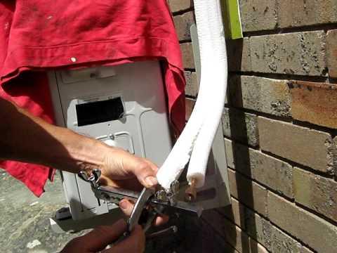 Εγκατάσταση κλιματιστικού air condition