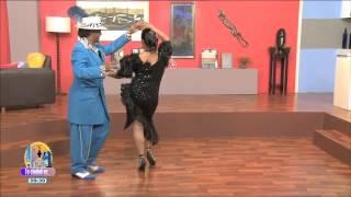 Clases de danzón con Pachuco Nereidas