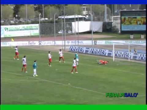 immagine di anteprima del video: FERALPISALO´-CREMONESE 1-0