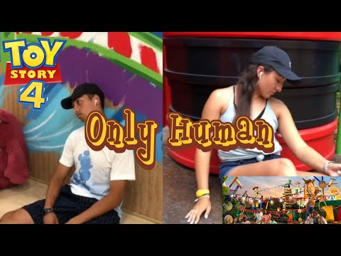 Jonas Brothers - Only Human | Dance Music Video In Toy Story Land