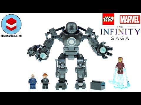 Vidéo LEGO Marvel 76190 : Iron Man : la destruction d'Iron Monger