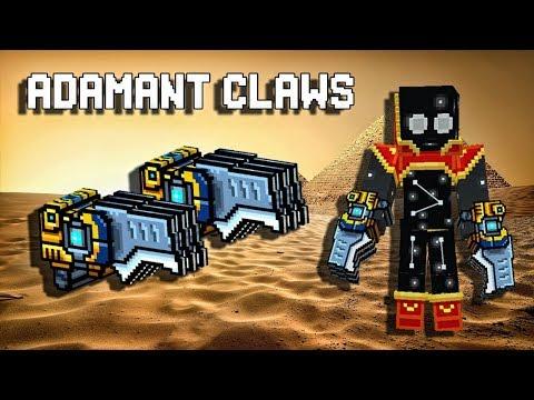 Adamant Claws - Pixel Gun 3D Gameplay