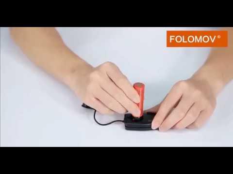 YouTube Video zu Folomov Key Charger Akku Ladegerät mit Powerbank Funktion