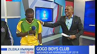 Gogo Boys club kwenye studio