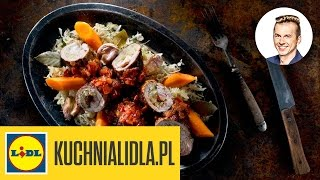 Najlepsze zrazy z szynki wieprzowej w sosie musztardowym - Karol Okrasa - Przepisy Kuchni Lidla