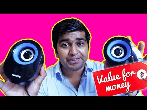 Best Budget USB speaker | Philips speaker with USB | Technology Review