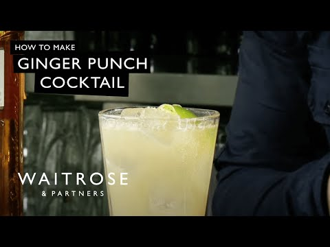 Video Ginger Punch cocktail recipe - Waitrose