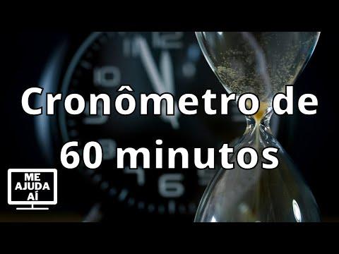 Cronômetro de 60 minutos