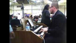 "One Sweet Day - Tony Robinson Memorial Service - Dan ""Spiffy"" Neuman on organ"