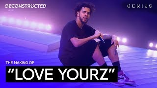 "The Making Of J. Cole's ""Love Yourz"" With !llmind 