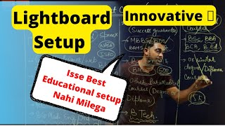 how to shoot innovative lectures | educational videos by mobile camera | chalk talk tutorials