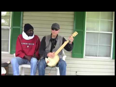 Gourd Banjo and Hambone on a Mississippi Porch