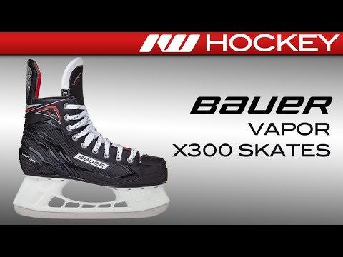 2017 Bauer Vapor X300 Skate Review