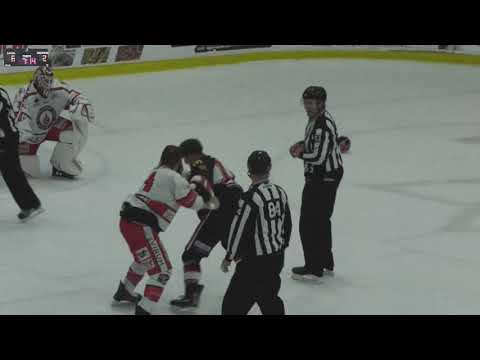 Chris Cloutier vs. Antoine Guimond