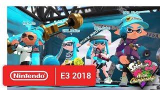 2018 Splatoon 2 World Championships - Opening Rounds - Round 3 - Nintendo E3 2018 - dooclip.me