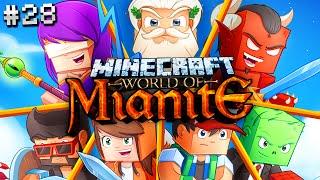Minecraft Mianite: THE GREAT CHICKEN WAR (S2 Ep. 28)