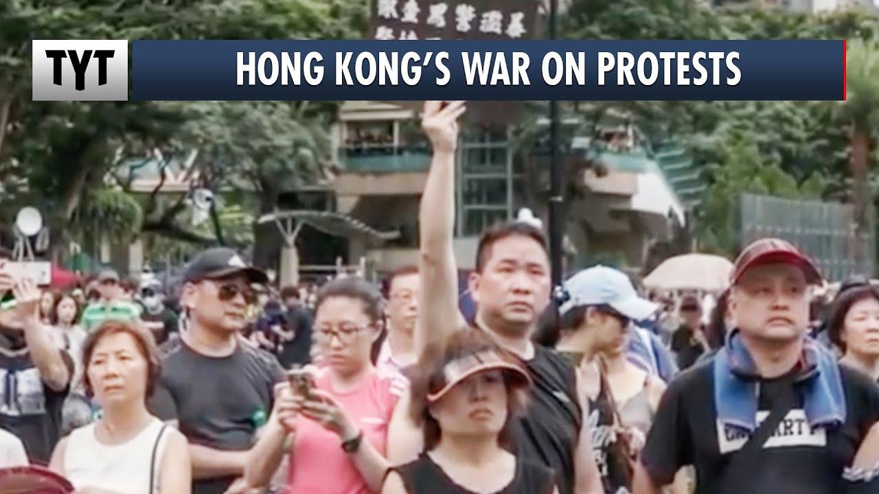 China Cracks Down On Hong Kong thumbnail