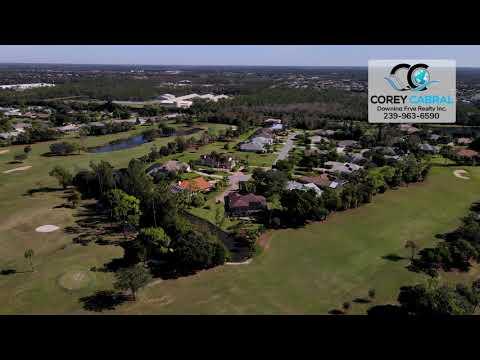 Imperial Golf Club Naples Florida Real Estate 360 Aerial homes & Condos