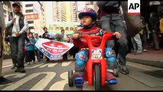 Protesters take to streets over Chinese vehicle scheme