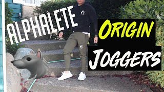 DISAPOINTED ALPHALETE ORGIN JOGGERS REVIEW