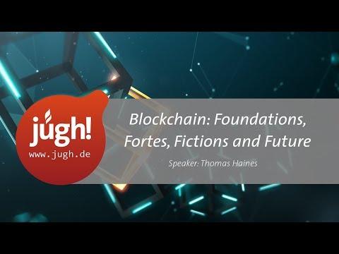 Thomas Haines von der Polyas GmbH hat bei der JUGH die Grundlagen, Vorteile und Nachteile von Blockchain vorgestellt – inkl. Zukunftsprognose für diese Technologie