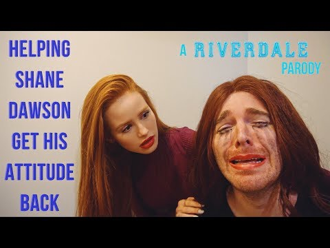 Helping Shane Dawson Get His Attitude Back (RIVERDALE Skit) | Madelaine Petsch