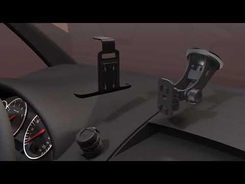 MICRO - Professionelle Halterung mobile Geräte im Auto
