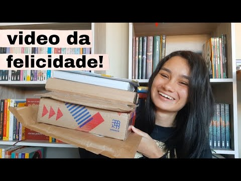 UNBOXING! (vulgo vídeo da felicidade) ? || Amid Books