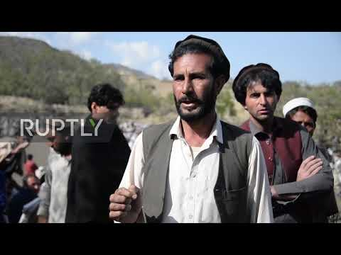 Afghanistan: Hundreds attend funeral for victims of Nangarhar mosque bomb attack