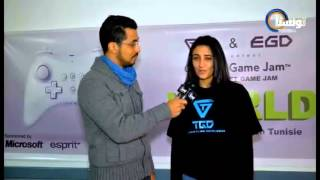 Reportage Tounisna Tv Global Game Jam 2013