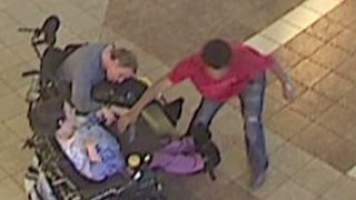 Thief steals from disabled couple