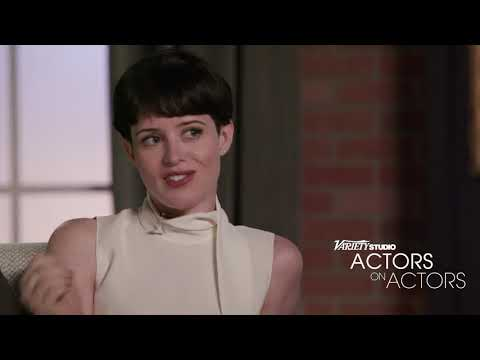 Claire Foy - A on A - Benedict Cumberbatch (видео)