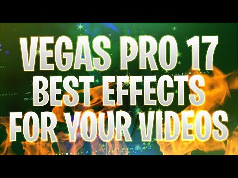 VEGAS Pro 17: The Best Effects For YouTube Videos - Tutorial #466 ...