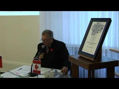 Křest knihy R. Matuly videoreportáž Ostravská radnice