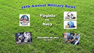 2017 Military Bowl (Virginia v Navy) One Hour