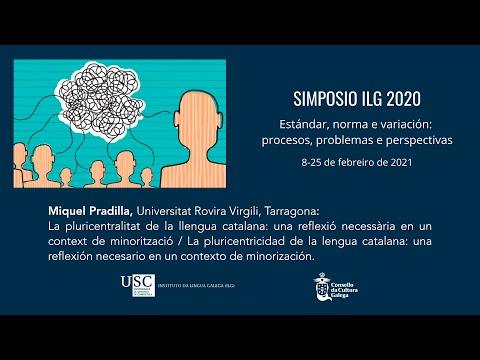 La pluricentralitat de la llengua catalana: una reflexió necessària en un context de minorització / La pluricentricidad de la lengua catalana: una reflexión necesario en un contexto de minorización