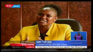 KTN Prime: IEBC selection panel publishes names of five shortlisted candidates for chair, 16/11/16