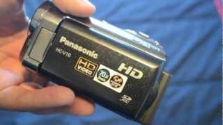 Unboxing: Panasonic HC-V10 Digital Video Camera