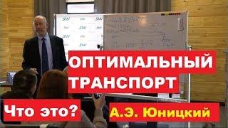ОПТИМАЛЬНЫЙ ТРАНСПОРТ. Анатолий Юницкий о том, каким должен быть транспорт.