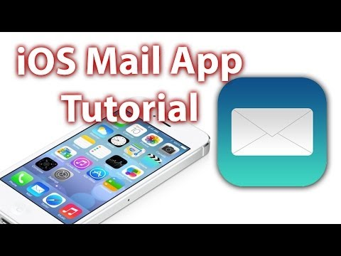 How To Use The iPhone eMail App – Full Tutorial